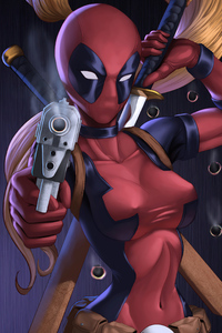 Lady Deadpool 4k 2020