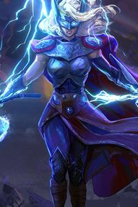 720x1280 Lady Thor 2020 4k