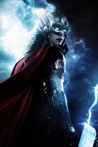 1440x2560 Lady Thor 8k