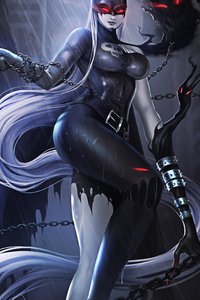 720x1280 Ladydevimon From Digimon 4k
