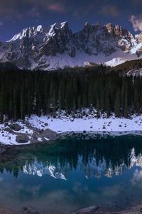 1440x2960 Lago Di Carezza