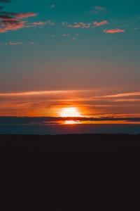 Lake Golden Hour Beautiful Sunset 4k