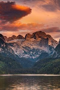 720x1280 Lake Gosau In The Austrian Alps 4k
