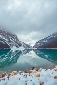 2160x3840 Lake Louise Canada 8k