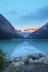 Lake Louise Canada Beautiful View