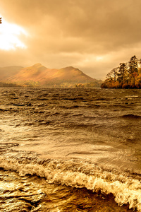 Lake Windermere Autumn Season 4k