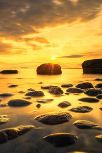 1242x2688 Lakescape Sunset 5k