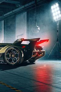 1440x2960 Lambo V12 Vision Gran Turismo