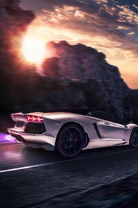 480x800 Lamborghini Artwork