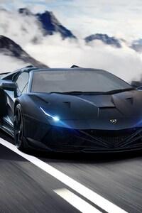 540x960 Lamborghini Aventador 2