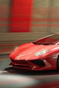 360x640 Lamborghini Aventador 4k New