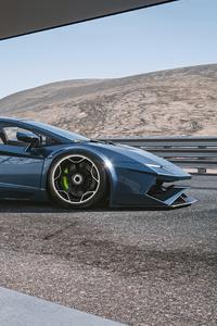 360x640 Lamborghini Aventador Concept Cgi Render 5k