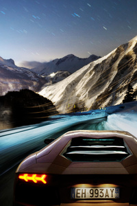 Lamborghini Aventador LP700 4 2018 Rear