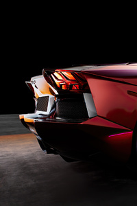 480x800 Lamborghini Aventador LP700 4 4k