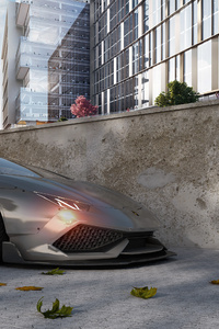 Lamborghini Aventador Roadster CGI 4k