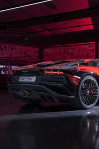 640x960 Lamborghini Aventador S By Yohji Yamamoto
