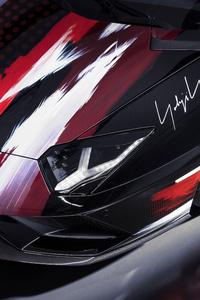 640x960 Lamborghini Aventador S Modified By Yohji Yamamoto