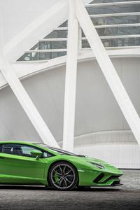 Lamborghini Aventador S Side View 2018