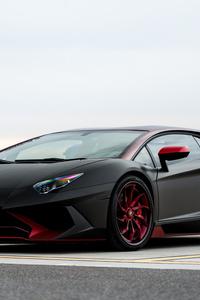 Lamborghini Aventador SV 4k