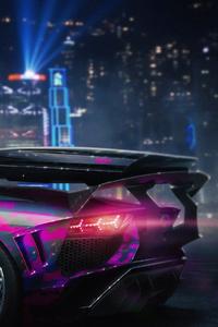 Lamborghini Aventador Sv Modified Cgi Art 4k
