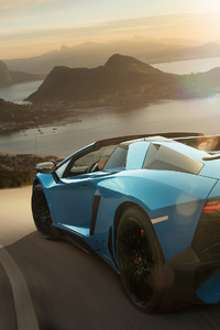 Lamborghini Aventador SV Rear