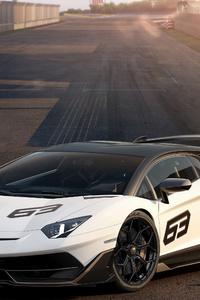 Lamborghini Aventador SVJ 2018 4k