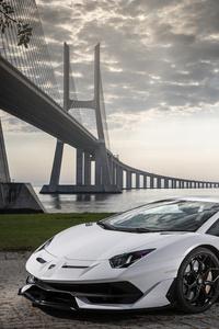 480x800 Lamborghini Aventador SVJ 2019 5k