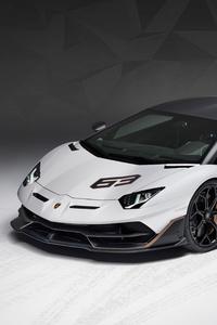 Lamborghini Aventador SVJ 63 2018 Front
