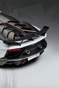 Lamborghini Aventador SVJ 63 2018 Rear