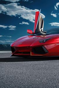 720x1280 Lamborghini Aventador SVJ 63 2020