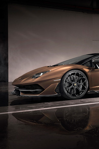 360x640 Lamborghini Aventador SVJ Roadster 2019 Side View