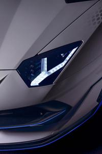 Lamborghini Aventador SVJ Roadster Xago Edition Headlamp