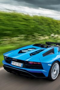 Lamborghini Aventadors Roadster 4k 2020