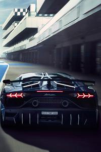 Lamborghini Aventardor SVJ 4k New