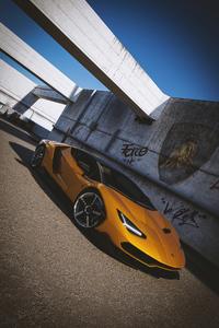 540x960 Lamborghini Centenario Cgi Art 4k