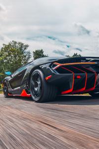 Lamborghini Centenario Coupe Rear