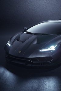 540x960 Lamborghini Centenario Grey 5k