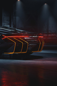 Lamborghini Centenario Rear 2020