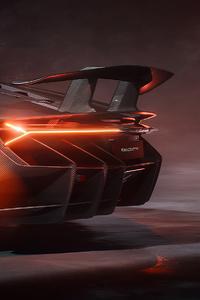 Lamborghini Centenario Rear 4k