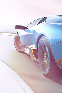 Lamborghini CGI Artwork