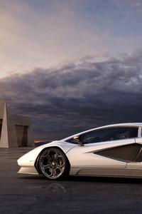480x854 Lamborghini Countach Lpi 2021