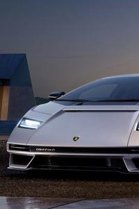 480x854 Lamborghini Countach Lpi 800 Front View 5k