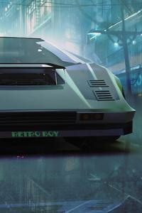 Lamborghini Countach Retro Ride 5k