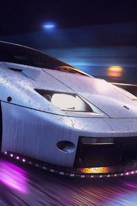 240x400 Lamborghini Diablo Digital Art