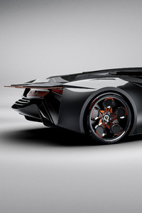 Lamborghini Diamante Concept Side View
