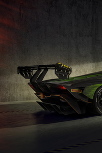 320x568 Lamborghini Essenza SCV12 Rear 8k