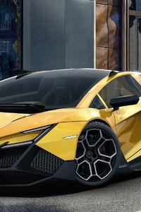 640x960 Lamborghini Forsennato