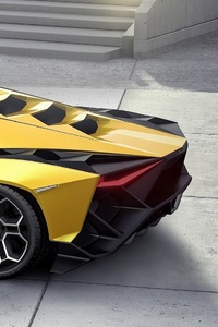 640x960 Lamborghini Forsennato Car