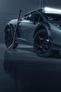 480x800 Lamborghini Gallardo 5k