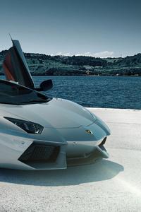 Lamborghini Grey 4k 2020